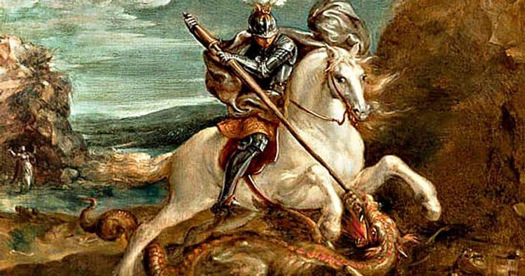 La llegenda de Sant Jordi, el Drac i la Princesa a Catalunya